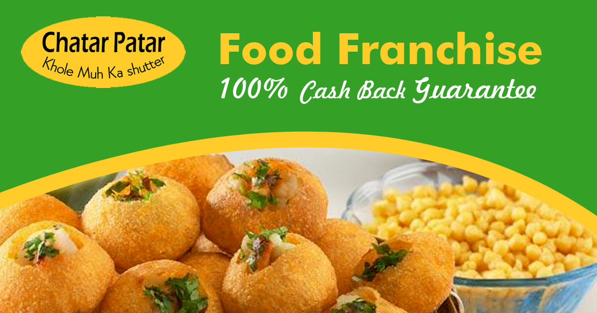 chaat franchise in india